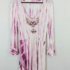 Free People Tie Dye Boho Dress